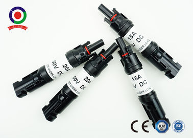 China Anti - Aging MC4 PV Connectors With Diode Quick Connect For Field Installation distributor