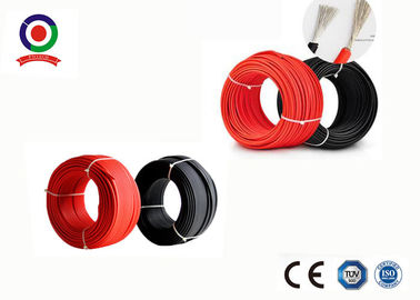 China Photovoltaic Single Core Solar Cable 4mm H1Z2Z2-K PV1-F For Solar Panel factory
