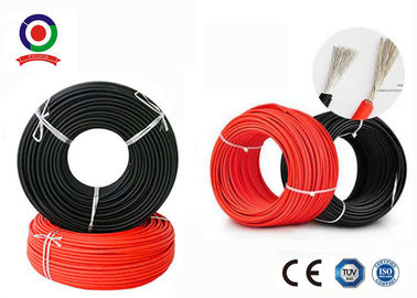 China TUV certificate EN50618 standard 16mm2 PV1-F DC Solar Cable For Solar PV System distributor