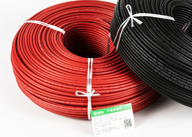 China Moisture Resistance Solar System Cable / Stable Electrical Single Core Wire factory
