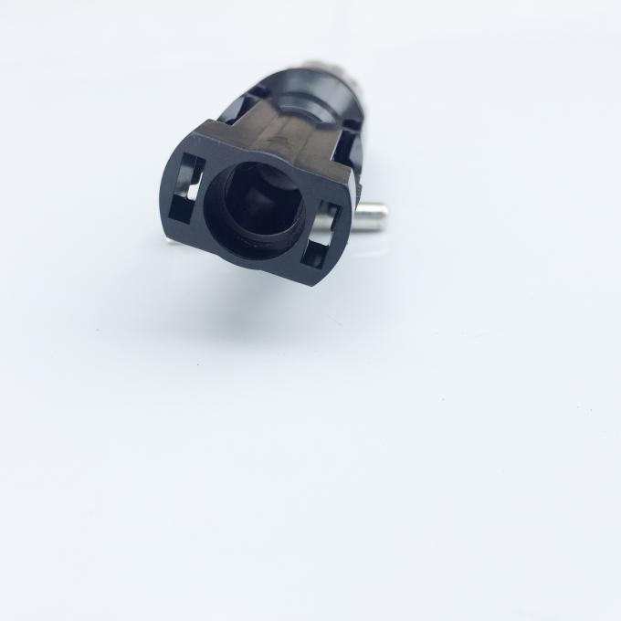 Black DC MC4 Male And Female Connectors 4000W For Solar System Installation