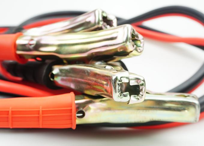 Intelligent 400A Jump Leads Booster Cables , Red And Black Truck Booster Cables
