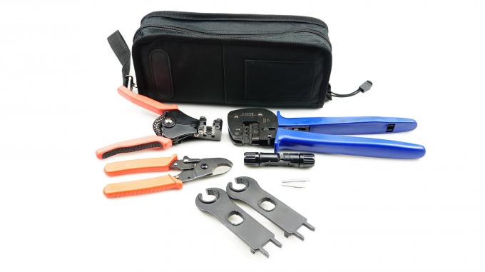 Black Bag  Crimping Tool Kit Solar Photoroltaic Connector For Solar System 0